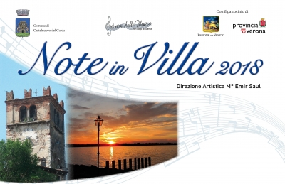 RADIO GARDA FM - MEDIAPARTNER DI NOTE IN VILLA 2018