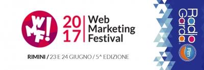 #RadioGardaFm mediapartner del #WMF17: il più importante evento dedicato al digitale.